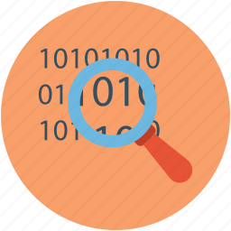 barcode, investigate, investigation, magnifying, universal product code icon