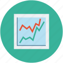 analysis, analytics, increasing chart, profit chart, statistic icon