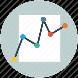 analysis, analytics, increasing chart, profit chart, statistic icon