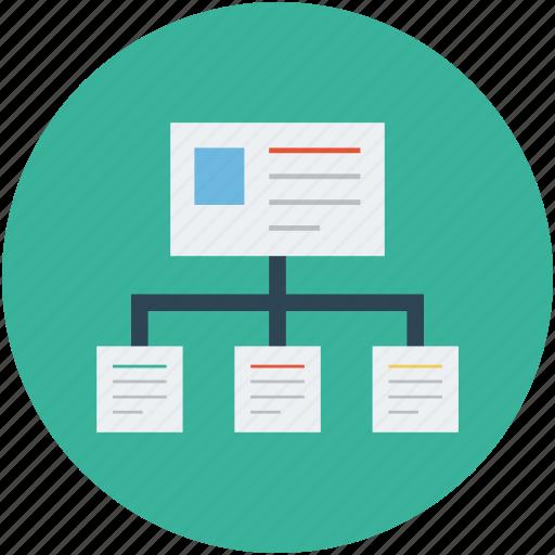 hierarchy, hierarchy structure, web applications hierarchy, web hierarchy, website hierarchy icon