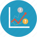 analysis, analytics, chart, graph, increasing chart, profit, statistics icon