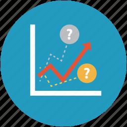 analysis, analytics, chart, graph, increasing chart, profit, statistics icon