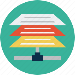 documents on network, online docs, shared data, shared docs, shared documents, shared files icon