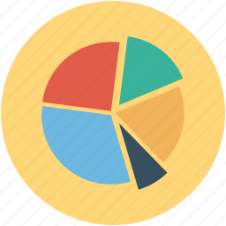 analysis, analytics, chart, circle chart, pie chart, statistic, statistics icon