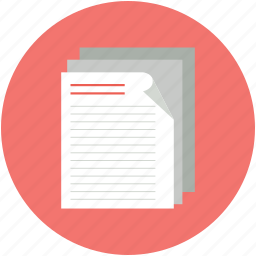data, documentation, documents, files, notes, records, sheets icon