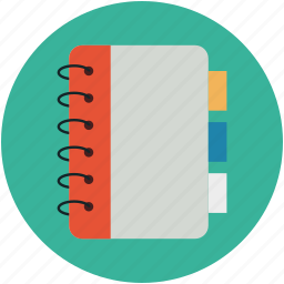 daybook, diary, memoir, notebook, register icon