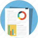 analysis, analytics, business report, chart, statistics icon