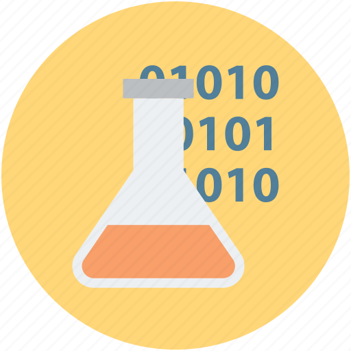 chemical, code, flask, formula, method, procedure, science formula icon