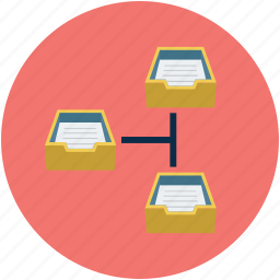 emailing, mail network, mailboxes network, online mailing, shared email network icon