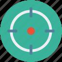 aim, crosshair, focus, goal, shooting, target