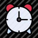 alarm, alert, clock, schedule, morning