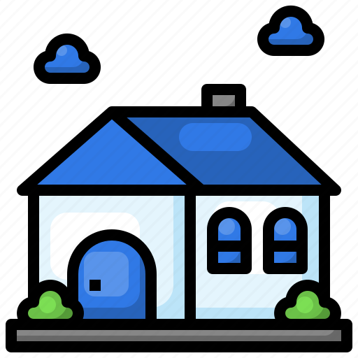House, real, estate, property, home, building icon - Download on Iconfinder