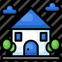 house, urban, town, building