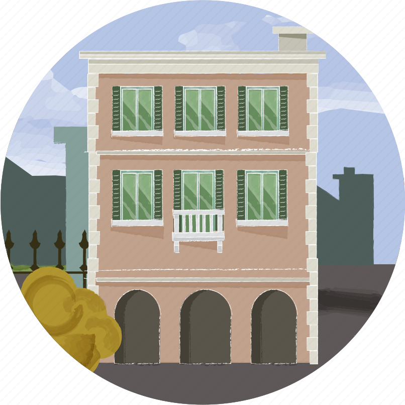 building, city, condo, home, hotel, house, urban icon