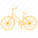 bicycle, bike, commute, cruiser, cycle icon