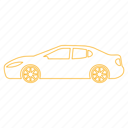 automobile, car, drive, sedan, street, transportation, urban icon