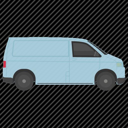 cargo van, commercial van, commercial vehicle, delivery van, utility van icon