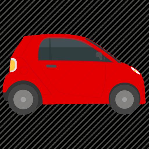 automobile, city car, hatchback, smart fortwo, smart vehicle icon
