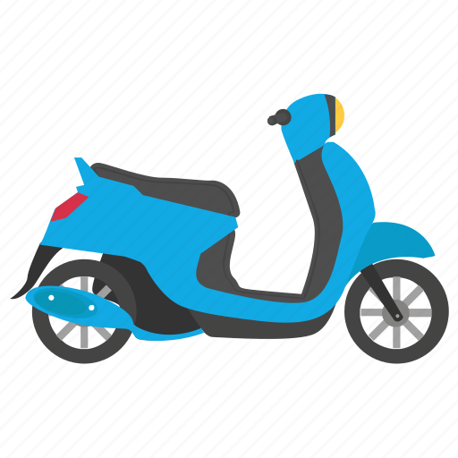 fast scooter, fastest moped, moped, motor scooter, scooter icon