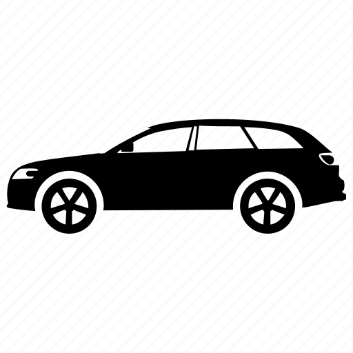 car, hatchback, mercedes, passenger car, vehicle icon