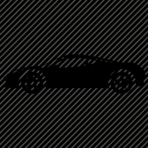 Automobile, sports car, supercar, car, vehicle icon