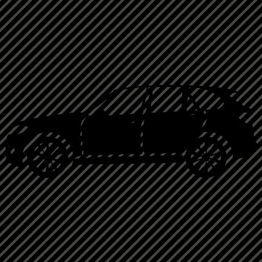 car, luxury suv, passenger suv, suv, suv vehicle icon