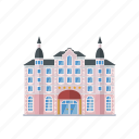 building, facility, grand hotel, hotel, tourism, urban icon