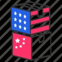 china, trade war, america, war, voting, ballot, poling icon
