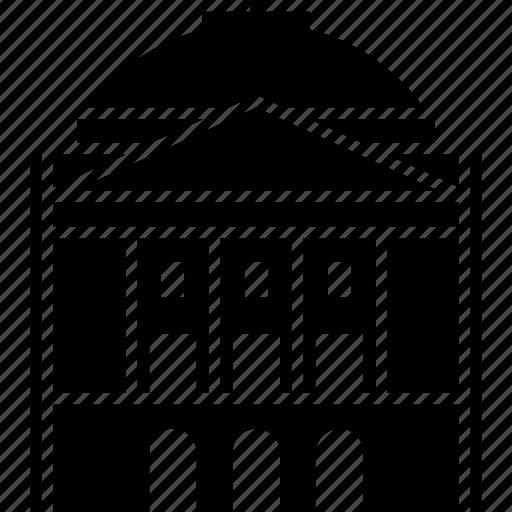 arizona, building, capitol, phoenix, usa icon