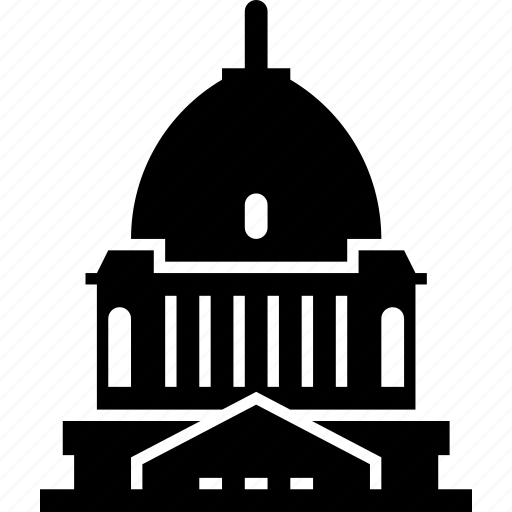 building, capitol, dome, pierre, south dakota, usa icon