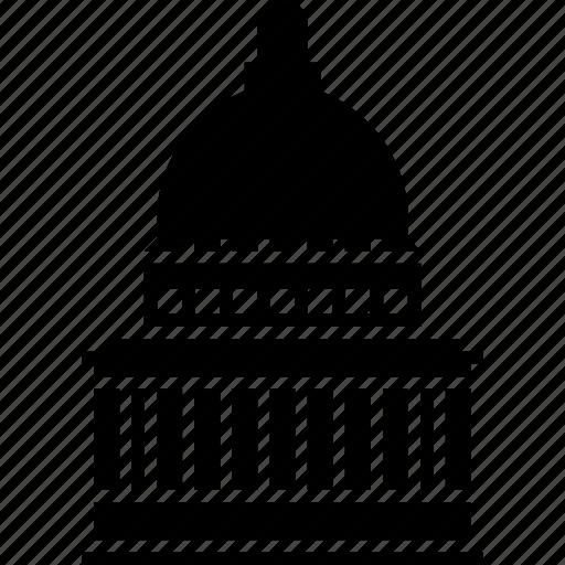 building, capitol, salt lake city, usa, utah icon