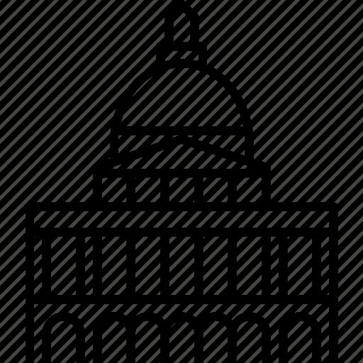 boston, massachusetts, state house, statehouse, usa icon