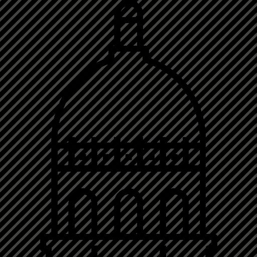 indiana, indianapolis, statehouse, usa icon