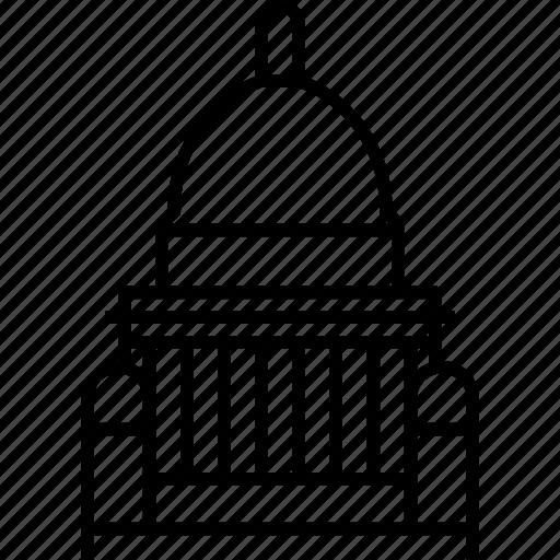 providence, rhode island, state house, usa icon