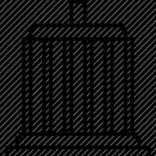oregon, salem, state capitol, state legislature icon