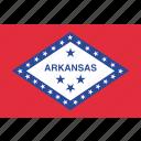 american, arkansas, flag, state