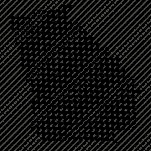 american, georgia, location, map, region, state icon