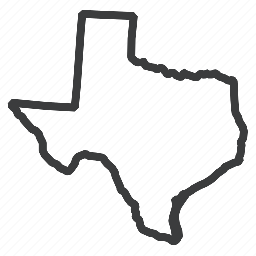 american, location, map, navigation, state, texas, united states icon