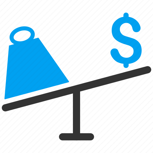 business, market, price, scales, swing, trade, trading icon