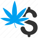 cannabis, crime, drug business, herb leaf, illegal, marijuana, weed icon