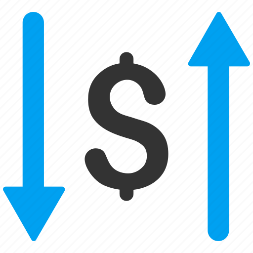dollar, exchange, finance, money, payments, replace, swap icon
