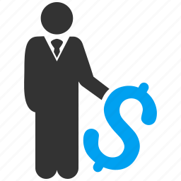 business man, finance, invest, investing, investment, investor, money icon