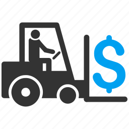 delivery, logistic business, money, payment, shipping, transportation, warehouse icon