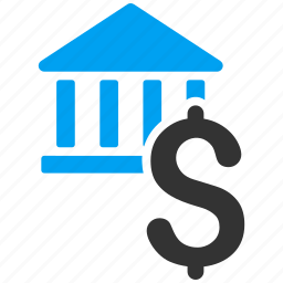 business, currency, dollar bank, finance, financial center, museum, payment icon