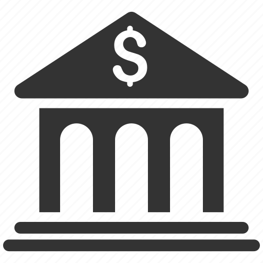 bank office, banking business, building, finance, financial center, house, payment icon