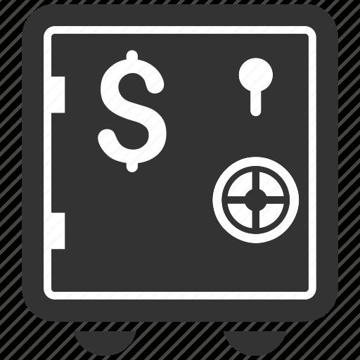 bank, banking safe, deposit, finance, locked money, protection, safety icon