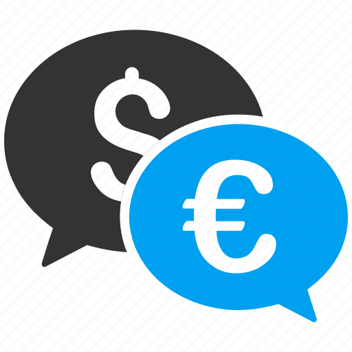 currency exchange, dollar, euro, finance, international payment, money change, transactions icon