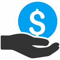 bank, business, donate, finance, money, payment, salary icon