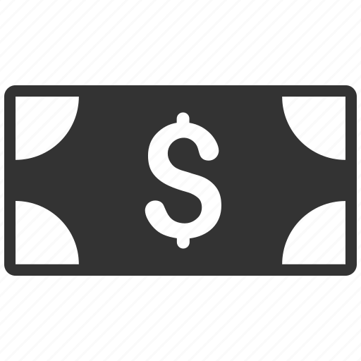 banknote, currency, dollar, finance, money, pay, payment icon