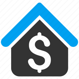 home, house, loan, mortgage, real estate, rent, sale icon